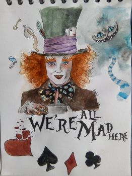 Mad Hatter  by timelordoftherings