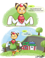 PKMNC - New Clothes by TamarinFrog