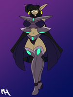 Donna Fusion - Donna Empress by DracoDragite