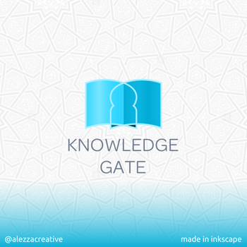 Knowledge gate logo by alezzacreative