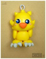 Fimo Chocobo Final Fantasy by LolleBijoux