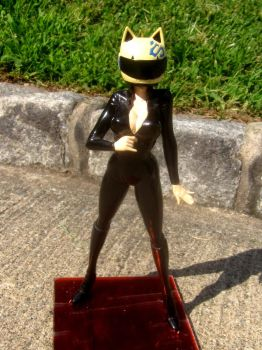 custom Celty figure by TeenTitans4Evr