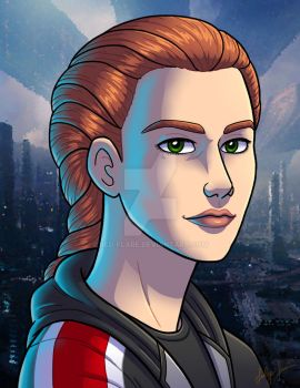 Commission: Maya Shepard by Red-Flare