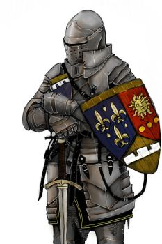 OC French Knight by Taurus-ChaosLord