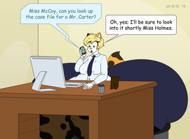 Haleigh's Job by SatsumaLord