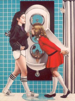 The Oath Of The Urinal by kolaboy