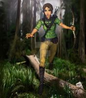 Katniss/Hunger Games Illustration Contest Entry by SelectYourself