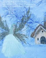 Winter Wishes Fairy by LaColombeDeDeuil