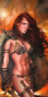 Young Red Sonja : Warrior Genesis by FredIanParis