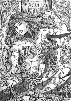 Poison IvY Deadly Flowers by leandro-sf