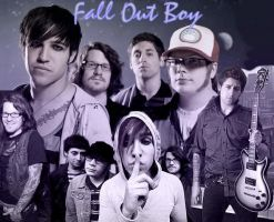 Fall Out Boy collage by riotxstar