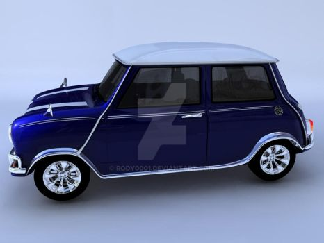 Mini Cooper 1998 side by rody0001