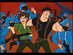 Flint and Lady Jaye by omgdragonfly