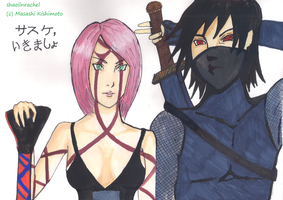 SxS all grown up and ready to fight by Shaolinrachel