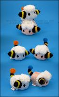 Stacking Plush: Mareep and Flaaffy