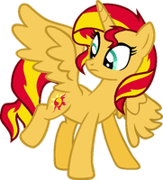 Princess Sunset Shimmer (READ DESC.) by BlueRainiPony