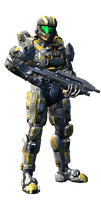 My Spartan IV Level 50 by counterfox