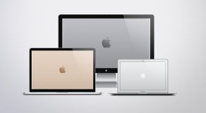 Stainless Steel Apple Logo Wallpapers by JasonZigrino