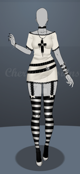 (closed) Auction Adopt - Outfit 484 by CherrysDesigns