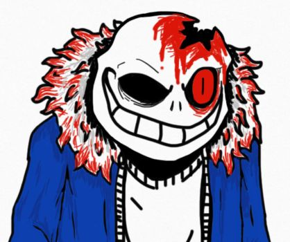 Horrortale Sans by nitrapalo