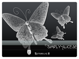 Butterflys3 - PS Brushes by crazy-alice