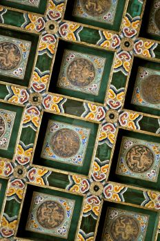 Ceiling from the Forbidden City by coffeeaddict2011