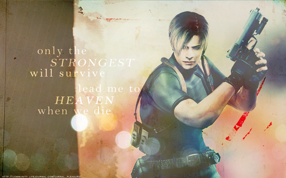 survive -Leon S. Kennedy- by QuidxProxQuo