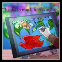 tHANK YOU FOR FAVING by SueJO