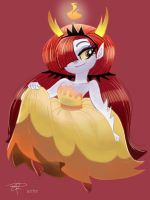 Hekapoo - Star vs The Forces Of Evil Fanart by pdcdraws