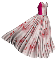 dress red by Ecathe