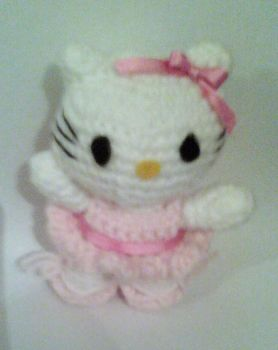Hello Kitty ballerina by luna-plateada