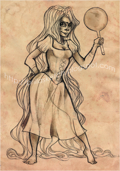Tangled - Rapunzel by p-prilla