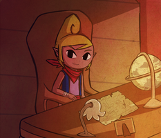 Tetra's Study by Icy-Snowflakes