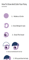 Drawing Pony The Easy Way by Shutterflye