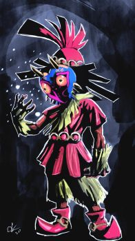 Skull kid by EarthsSaviorSonGoku