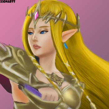 Princess Zelda by Xionarts