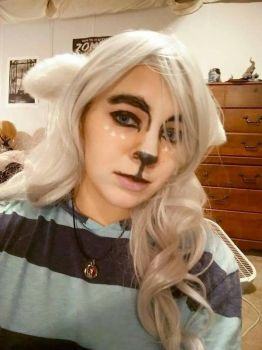 Toriel makeup 01 by SugoiPotatoCosplay