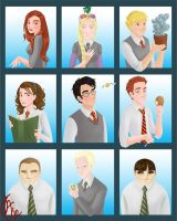 The Hogwarts Bunch by Limlight