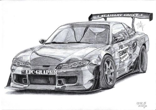 Nissan 200sx Silvia S13 TeamArtForce by Faik05