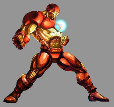 Marvel VS Capcom 2: Iron Man by UdonCrew