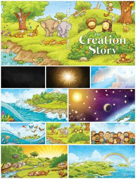 The Creation Story Book by eikonik