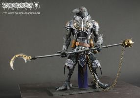 Black Raven Warrior by FourHorsemenStudios