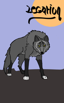 Legarion, my wolf character by Clhleodcfdcf