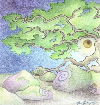 Moss and Moonlight by Spiralpathdesigns