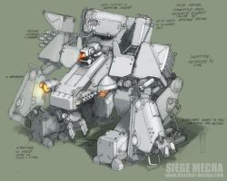 Siege Mecha by MikeDoscher