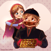 Chocolaaaate by lalitterboxes