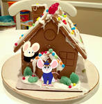 Gingerbread Mouse by nishi