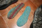 Felted shoe soles by KnitLizzy