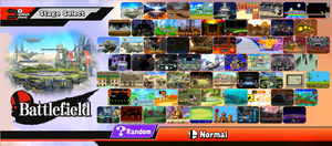 Super Smash Bros. 5 - Custom Stage Select Roster by S-Yaridovich9X