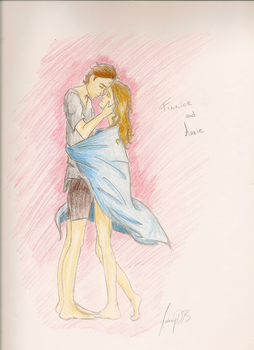 Hunger Games Finnick and Annie by dede23